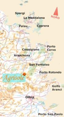 Cartina Sardegna Golfo Aranci.Le Tue Vacanze In Sardegna All Agriturismo Agrisole Olbia